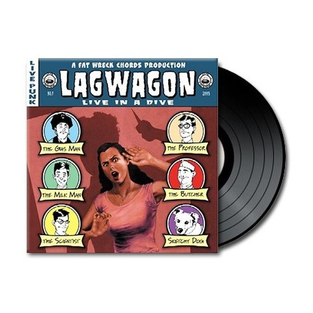 Lagwagon - Live In A Dive (Vinyl)