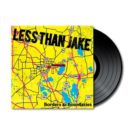 Less Than Jake - Borders & Boundaries (Vinyl)