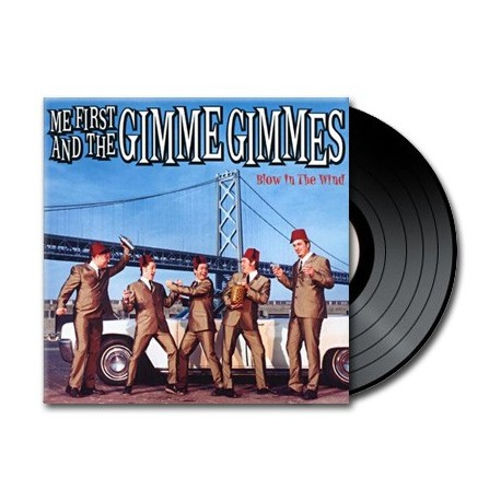 Me First And The Gimme Gimmes - Blow In The Wind (Vinyl)