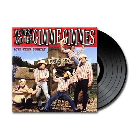Me First And The Gimme Gimmes - Love Their Country (Vinyl)