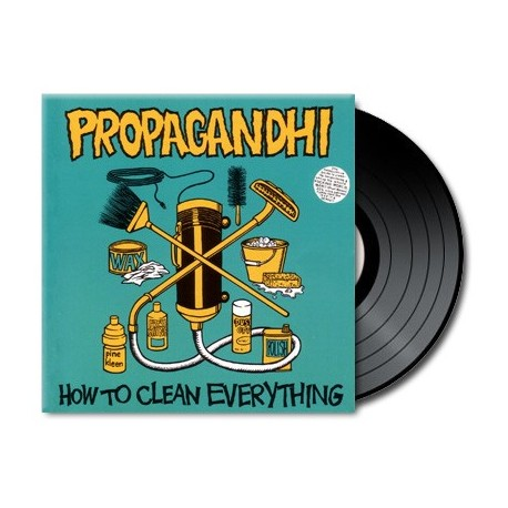 Propagandhi - How To Clean Everything (Reissue)