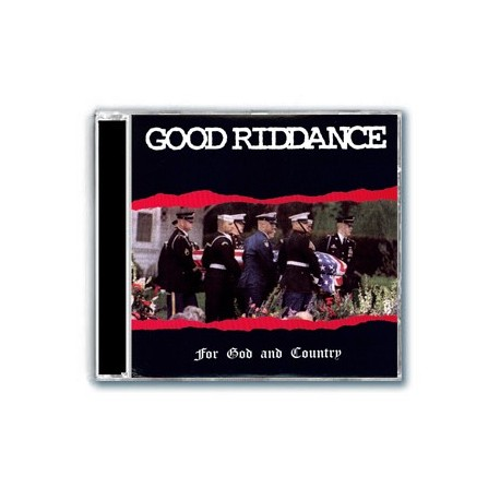 Good Riddance - For God and Country (CD)