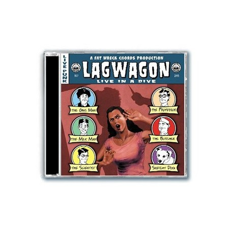 Lagwagon - Live In A Dive (CD)