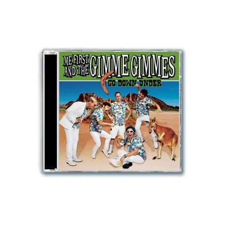 Me First And The Gimme Gimmes - Go Down Under (CD)