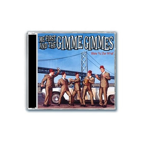 Me First And The Gimme Gimmes - Blow In The Wind (CD)