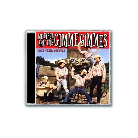 Me First and The Gimme Gimmes - Love Their Country (CD)