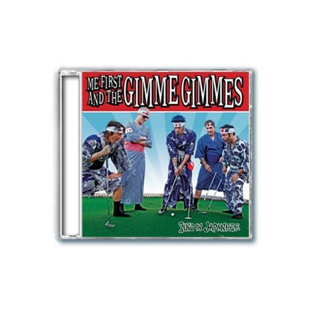 Me First and The Gimme Gimmes - Sing in Japanese (CD)