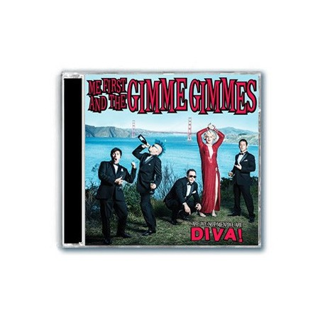 Me First and The Gimme Gimmes - Are We Not Men ? We Are Diva ! (CD)