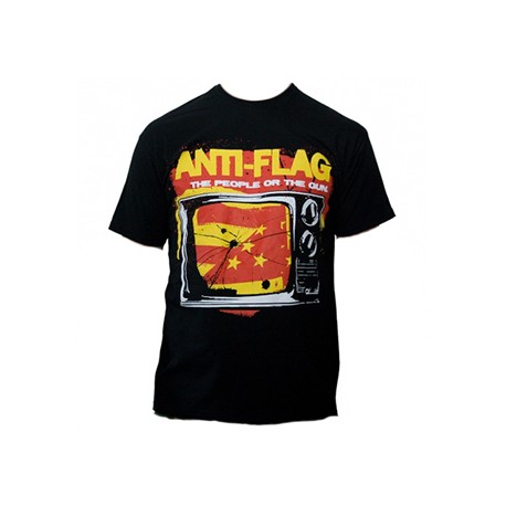 T-Shirt Anti-Flag - The People or The Gun