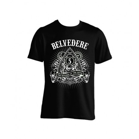 T-Shirt Belvedere - The Revenge Of The Fifth (Black edition)