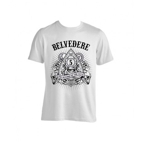 T-Shirt Belvedere - The Revenge Of The Fifth (White color)