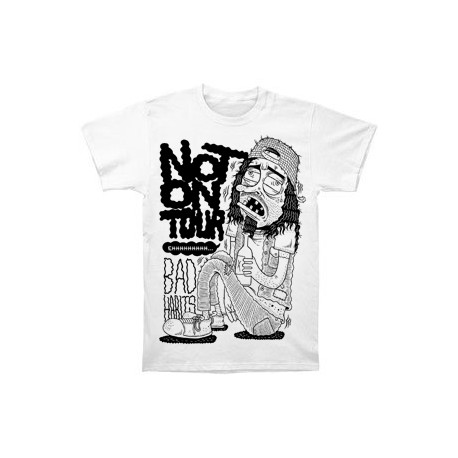 T-Shirt Not On Tour - Bad Habits (Limited edition)