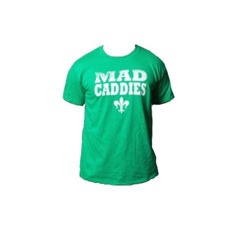 T-Shirt Mad Caddies - Faded Fleur (Green)