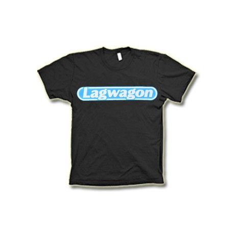 T-Shirt Lagwagon - Blue Logo