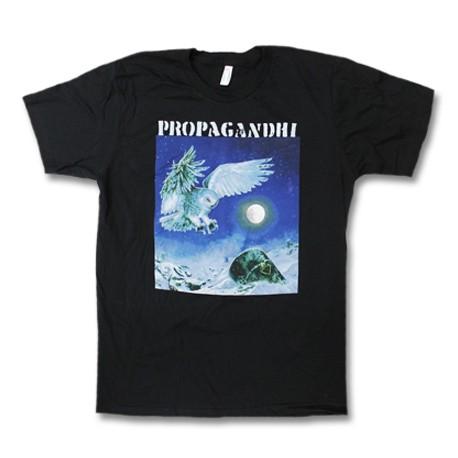 T-Shirt Propagandhi - Owl (Black)