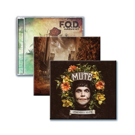 Winter sales - Pack 3 CDs (F.O.D. - Mute - Straightaway)