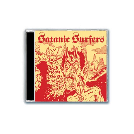 Satanic Surfers - Back From Hell (CD)