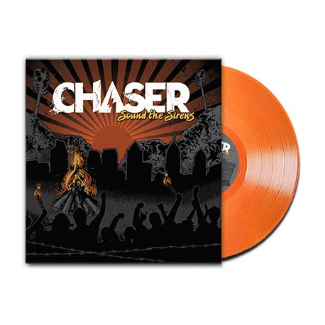 Chaser - Sound The Sirens (Orange Transparent Vinyl)