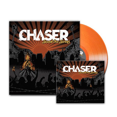 Chaser - Sound The Sirens (Bundle CD + Vinyl 1)