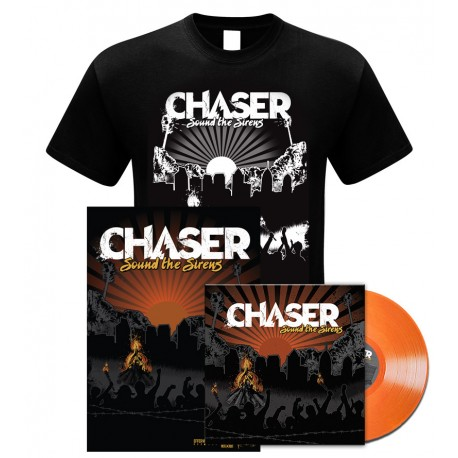 Chaser - Sound The Sirens (Bundle Vinyl 1 + T-Shirt + Poster)