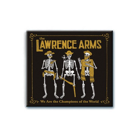The Lawrence Arms - We Are The Champions Of The World : The Best Of (CD)