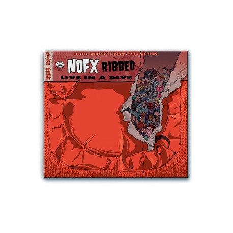 NOFX - Ribbed (Live in a Dive) (CD)