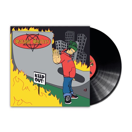 Satanic Surfers - Keep Out (Vinyl)