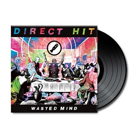 Direct Hit ! - Wasted Minds (Vinyl)