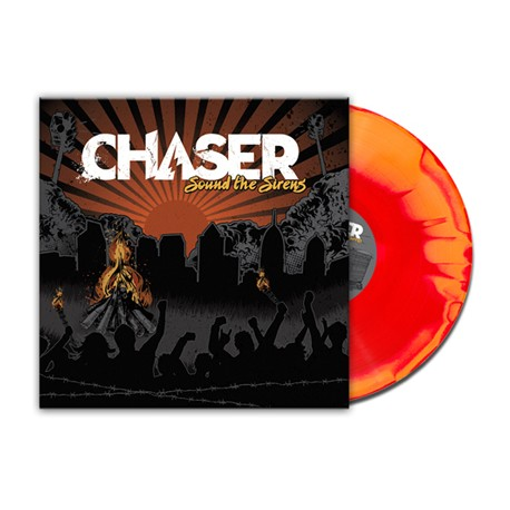 Chaser - Sound The Sirens (Orange and Red Swirl Vinyl)