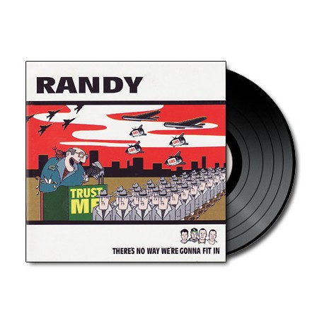 Randy - There's No Way We're Gonna Fit In (Vinyl)