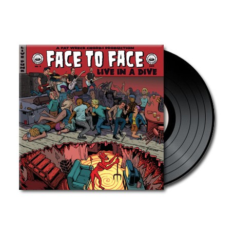 Face To Face - Live In A Dive (Vinyl)