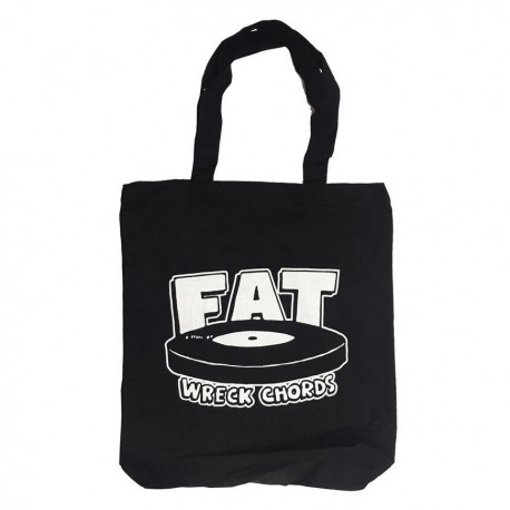 Fat Wreck LP Tote Bag (Black and White)
