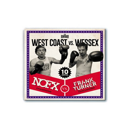 NOFX / Frank Turner - West Coast vs. Wessex (CD)