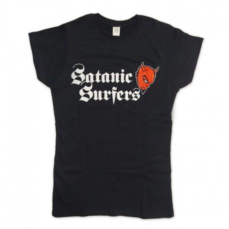 T-Shirt Satanic Surfers - Classic Devil 2 (Girls)